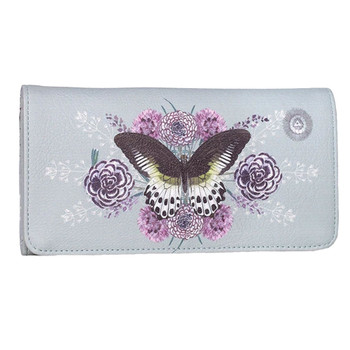 PAPAYA Trifold Wallet Rare Species Butterfly