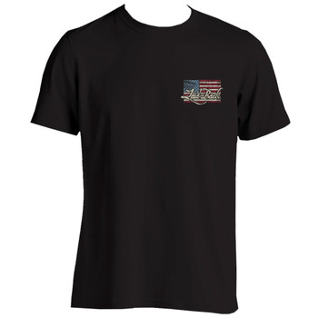 Cooler US Flag-Chill T-Shirt front view