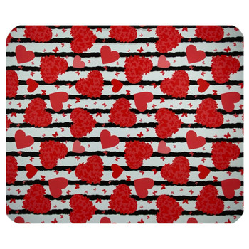 Butterfly Hearts Mouse Pad Mat