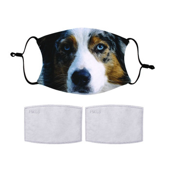 Australian Shepherd Protective Covering Face Mask