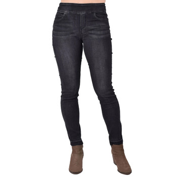 Charcoal Denim Jean Leggings