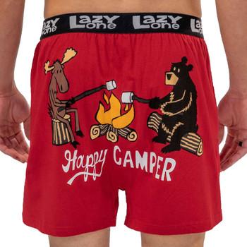 Happy Camper Men's Funny Boxers