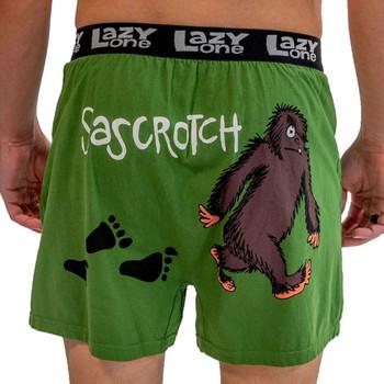 Sascrotch Men's Funny Boxer