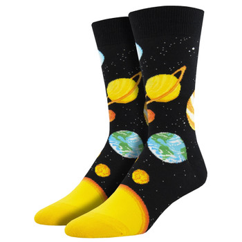 Plutonic Relationship Planet Men's Crew Socks