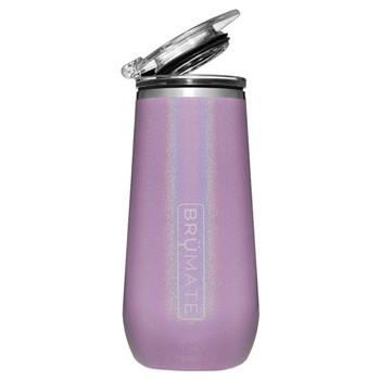 BruMate Champagne Flute Glitter Violet