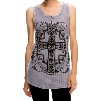 Vocal Apparel Dusty Lilac Tank Top