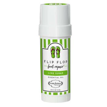 Lime Sugar Flip Flop Foot Repair