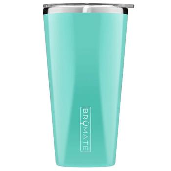BruMate Imperial Pint Glass Tumbler Aqua