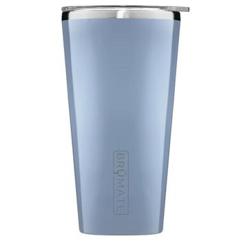 BruMate Imperial Pint Glass Tumbler Denim Blue