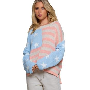 Americana USA Flag Lightweight Sweater Top