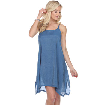 Blue Layering Tank Dress