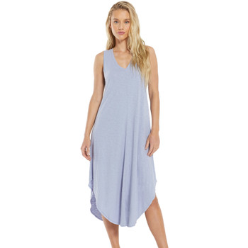 Z Supply Lavender Grey Cotton Midi Dress
