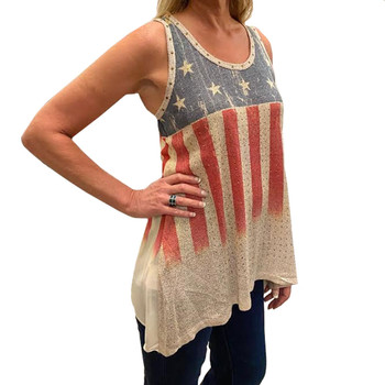 Vocal Apparel Stars and Stripes Tank Top