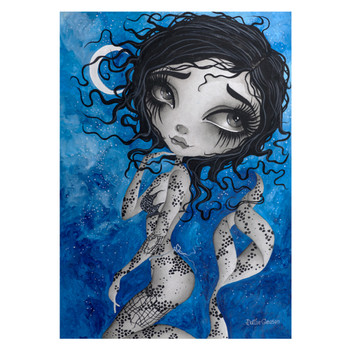 Dottie Gleason Life of a Mermaid Canvas Art Print