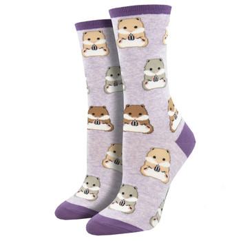 Going Ham Hamsters Women's Crew Socks