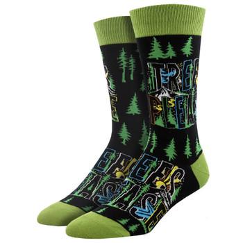 Atomicchild Trees Please Men's Crew Socks