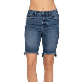 Judy Blue Cut Off Bermuda Shorts