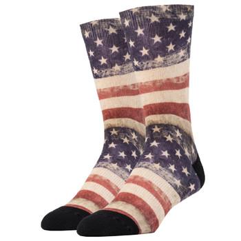 USA Flag Men's Crew Socks