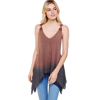 Ombre Wash Layering Tank Top