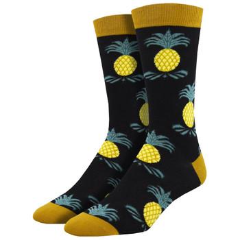 Impeccable Pineapples Men's Crew Socks