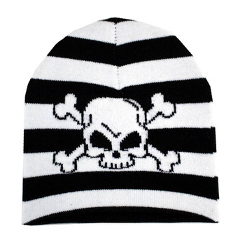 Skull and Crossbones Beanie Hat