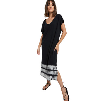 Z Supply Oversized Cotton Tie-Dye Dress front view