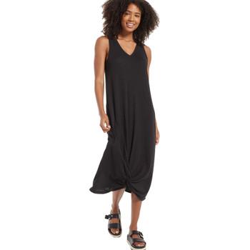 Z Supply Reverie Knot Triblend Dress Black