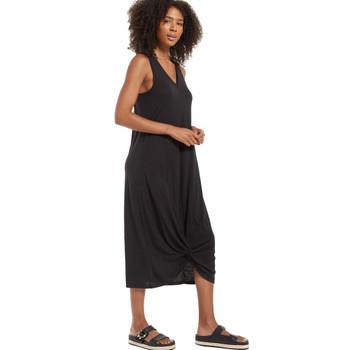 Z Supply Reverie Knot Triblend Dress Black side view