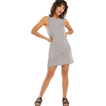Z Supply Lex Heather Grey Triblend Mini Dress