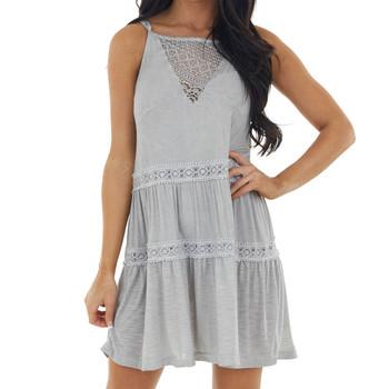 POL Clothing Flirty Summer Dress front view