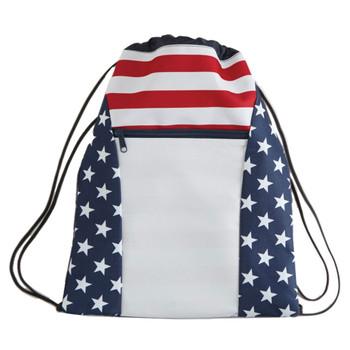 Americana drawstring backpack.