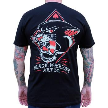 Adi Panther Men's Tee Shirt back view