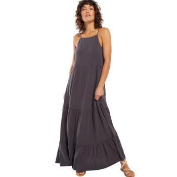 Z Supply Rory Tiered Slub Cotton Jersey Maxi Dress