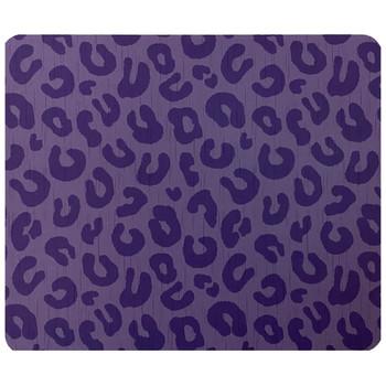 Purple Leopard Mouse Pad Mat