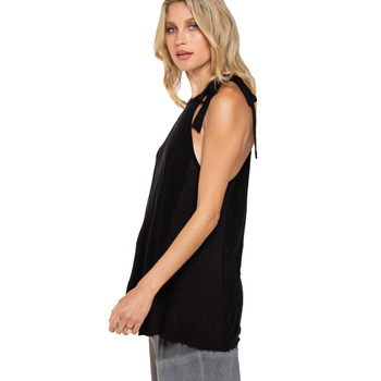 Pol Clothing Dolled Up Halter Top side view