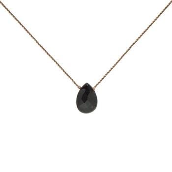 SoulKu Black Onyx Gemstone Necklace