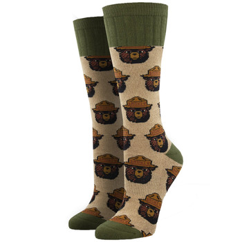 Smokey Bear Outlands Women's Boot Crew Socks