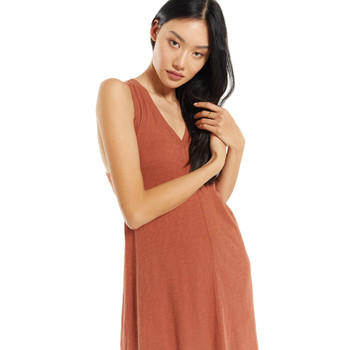 Z Supply Russet Reverie Midi Dress front view