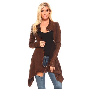 Urban X Rusty Brown Tunic Jacket