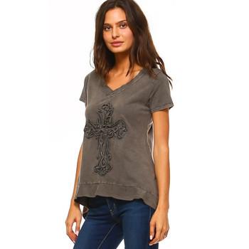 Urban X Mineral Wash Grey Tee Shirt
