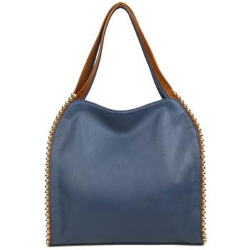 The Gracie Tote Blue Shoulder Bag Purse