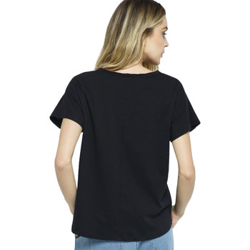 Vocal Apparel Laced Up Cut Out Neckline Top back view
