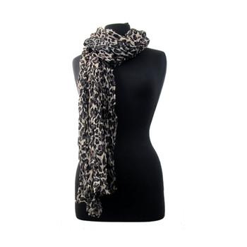 Leopard scarf or shawl.