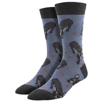 Frenchie Bulldogs Men's Crew Socks