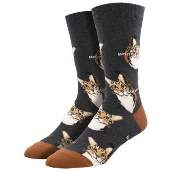 BOOP Kitty Cats Men's Crew Socks