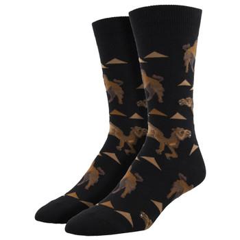 Hump Day Camel Men's Crew Socks