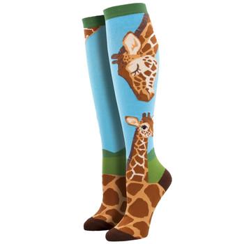 Loving Giraffes Women's Knee High Socks