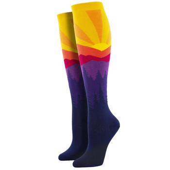 Mountain Sun Women's Knee High Socks