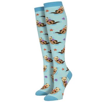 Otter Spotter Women's Knee High Socks