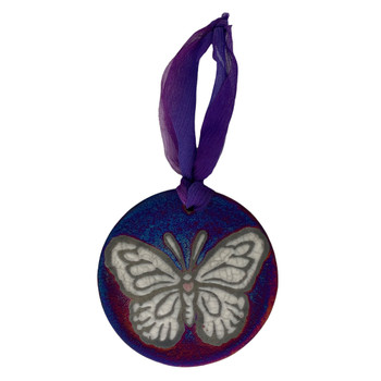 Butterfly Ceramic Hanging Ornament